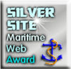 Silver Award from Maritime Web Awards