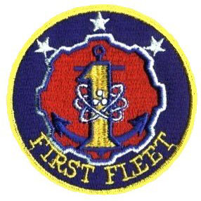First Fleet Patch courtesy of Phil Gerini