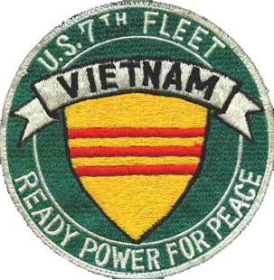 7th Fleet VN patch courtesy of Kenneth Pounders