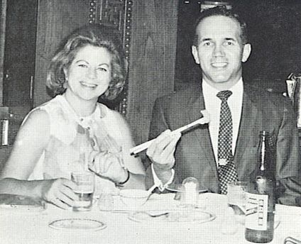 Captain John W Danis with his wife Jeanne