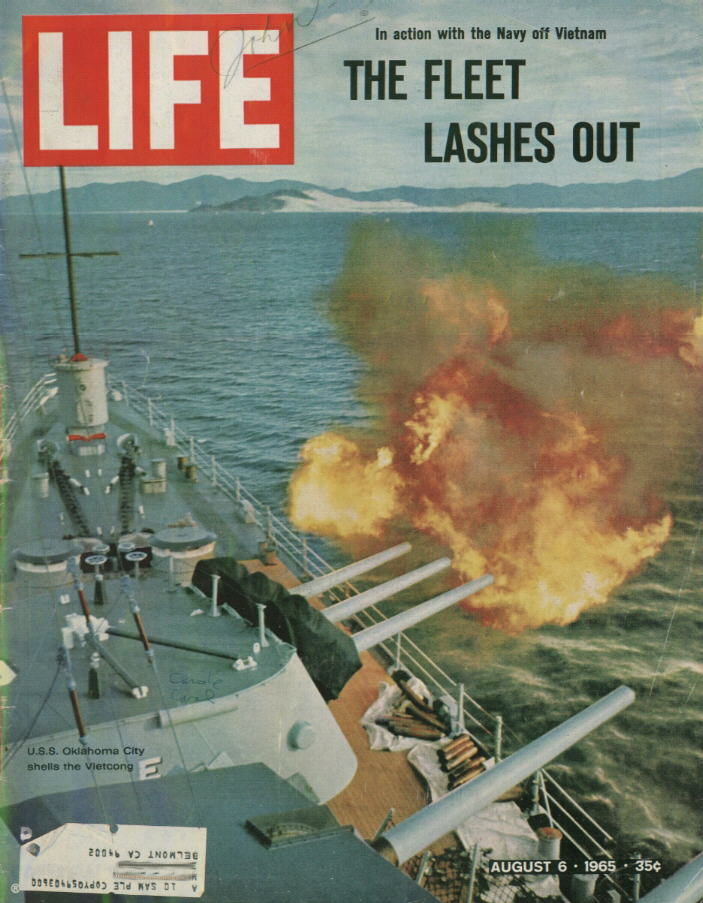 Life Magazine Cover courtesy of Tom Boucher