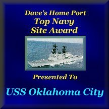 Dave's Home Port Top Navy Site Award
